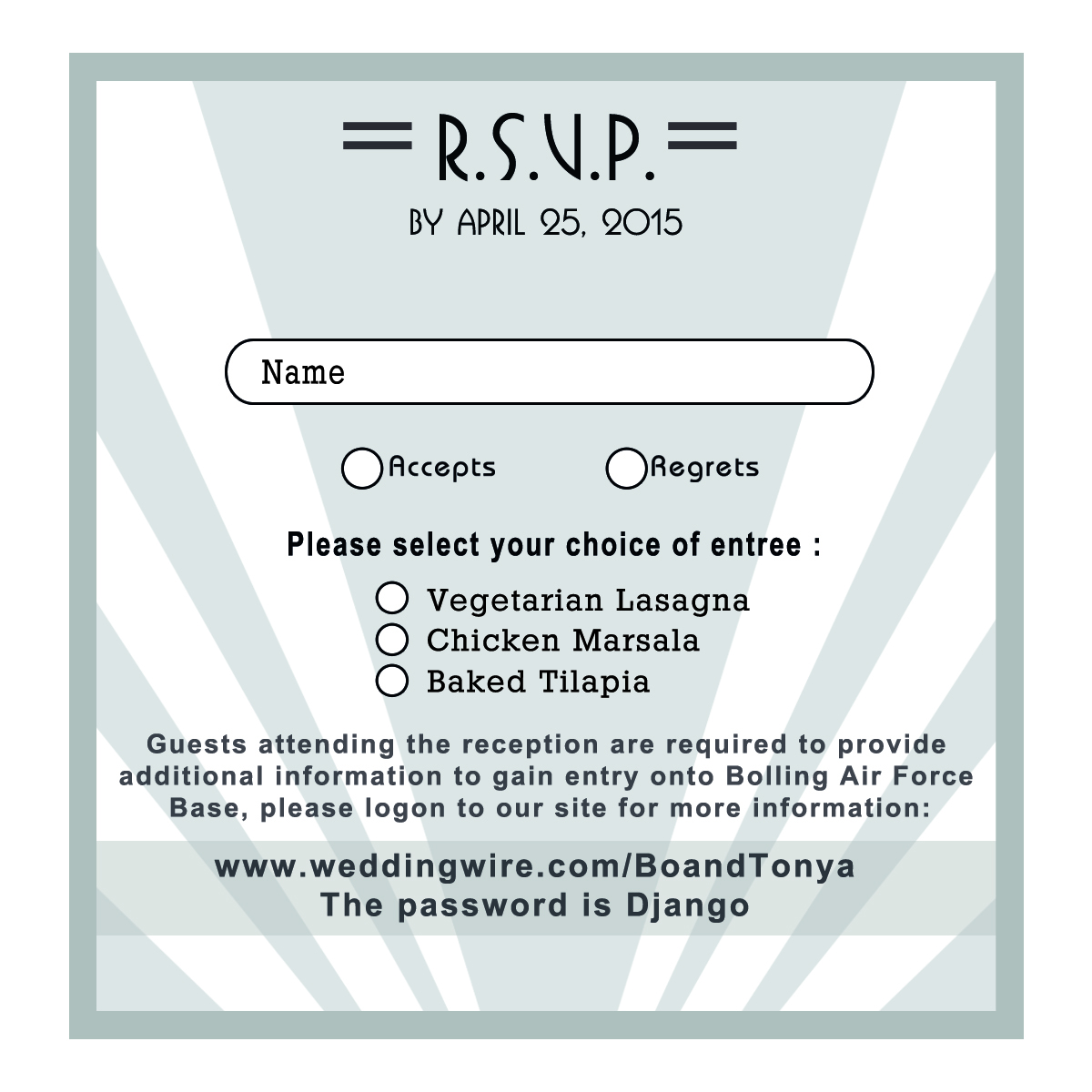 4x4 RSVP without Security