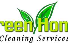 Green Home Cleaning Services logo