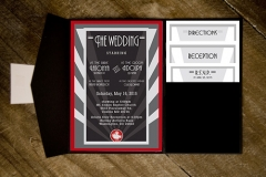 Finished Wedding Invitation